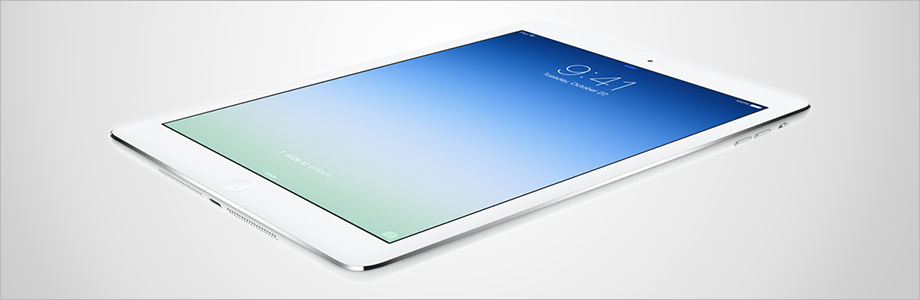 An Apple iPad Air