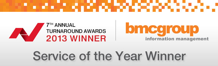 BMC Group Announced as Service of the Year Provider