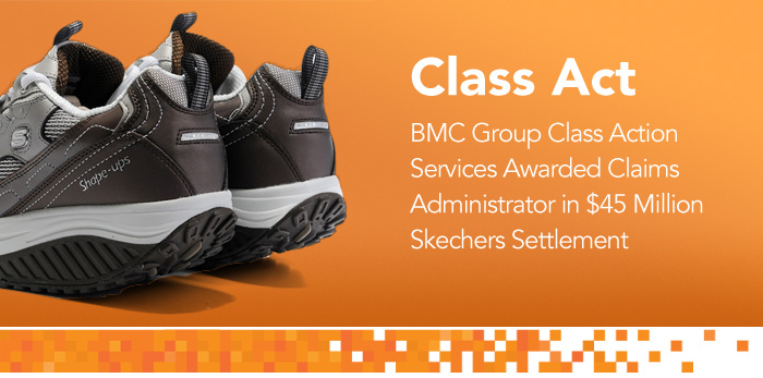 BMC Group Launches Skechers Settlement Website